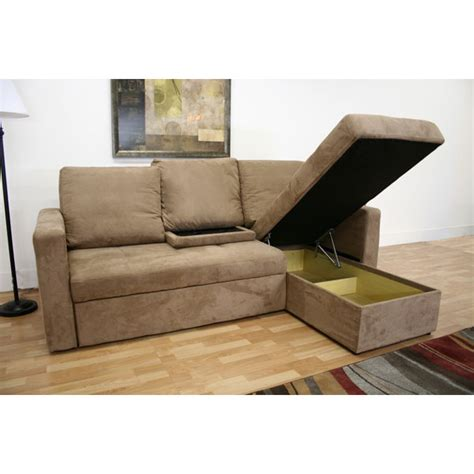 convertible sofa with chaise tila convertible sofa with storage chaise dcg stores