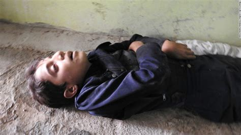 attacks child syria attack photos show there is no hiding from horror cnn