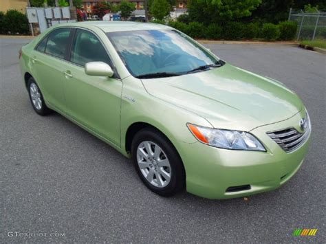 Toyota Green 2007 Toyota Camry Hybrid Green 200 Interior And
