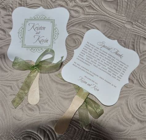 cheap fans for wedding wedding favor fan rylee wiregrass weddings