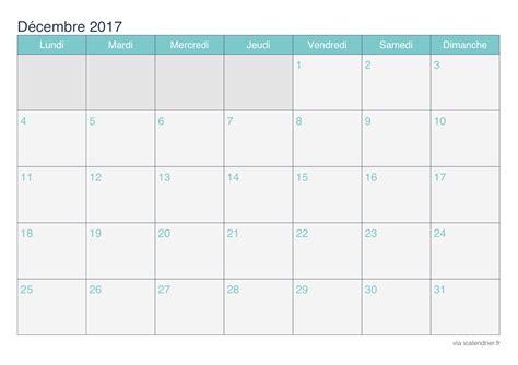 Calendrier Octobre Novembre D Cembre 2017 Calendrier D 233 Cembre 2017 224 Imprimer Icalendrier
