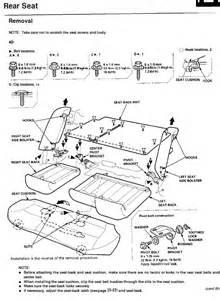 rear speaker polarity removing rear seat honda tech