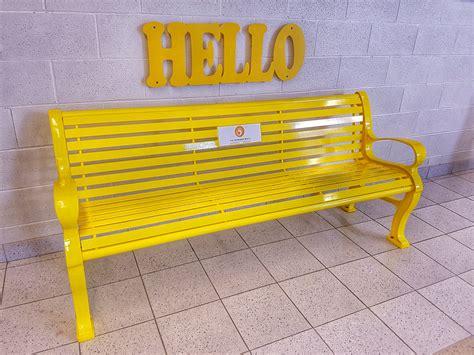 friendship bench fletcher s meadow unveils the friendship bench the