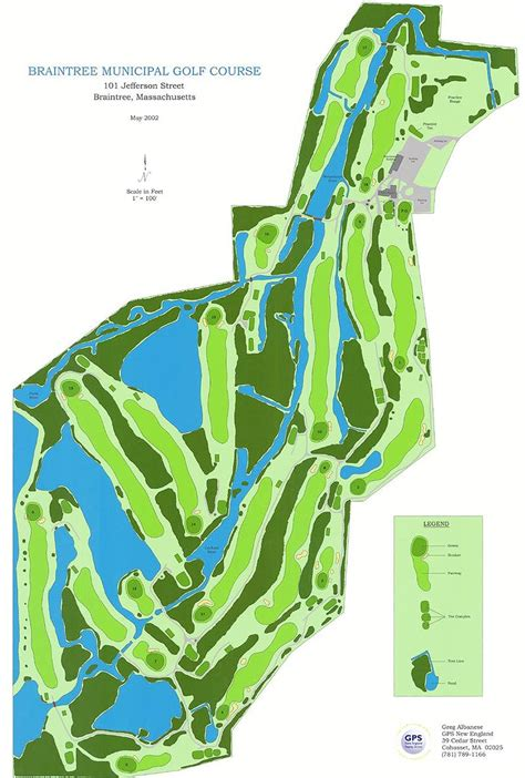 golf course layout design braintree parks and recreation facility details