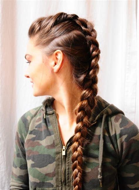 mohawk braid hairstyles for 2016 creative mohawk braid hairstyle ideas for 2016 2017