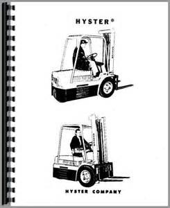 hyster ye40 forklift service manual