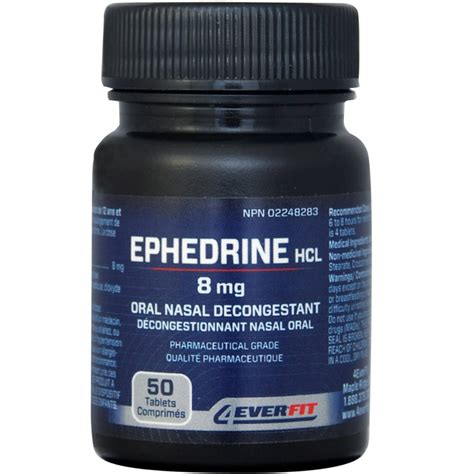4ever fit ephedrine 8mg ships within canada only in
