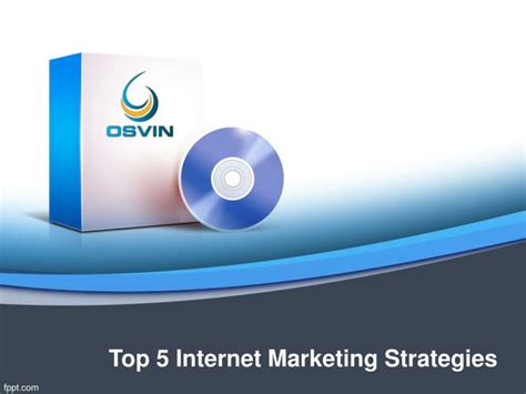 ppt top 5 internet marketing strategies powerpoint