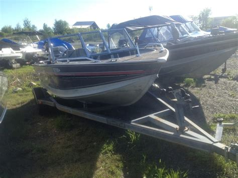 alumacraft boats kenora alumacraft 165 competitor sport 1991 used boat for sale in