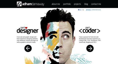 design inspiration web portfolio 27 beautiful portfolio website design exles that will