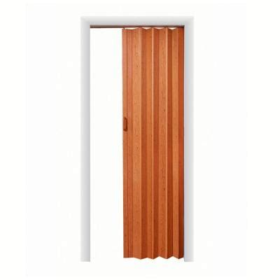 spectrum express one 48 in x 96 in vinyl fruitwood accordion door ex4896f the home depot