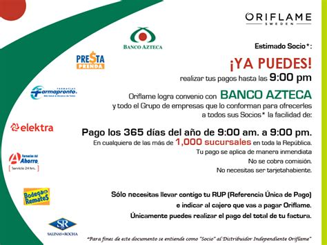 imagenes banco azteca oriflame oriflame y banco azteca