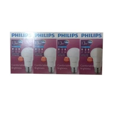 Lu Led Philips Paket 13watt by Lu Led Philips 13 Watt Terbaru Ori Harga Promo