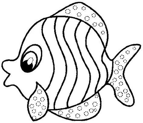 Free Fish Coloring Pages For Kids Printable Fish Coloring Pages