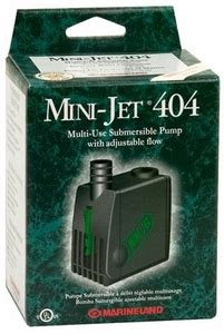 marineland mini jet 404 adjustable flow pump 20 106 gph