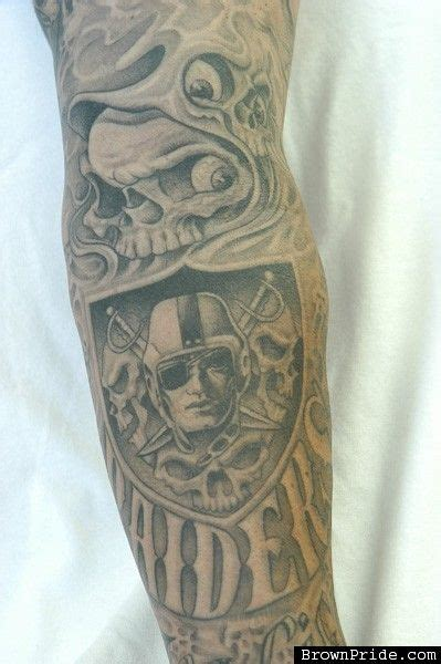oakland raiders tattoos the world s catalog of ideas