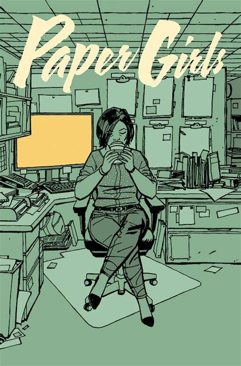 paper girls 05 6 questions for brian k vaughan writer of saga and paper girls