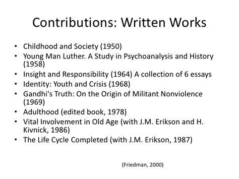 Mba 570 Shippensburg Syllabus by Erik Erikson Essay Theories Of Personality Erik Erikson