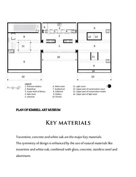 kimbell art museum floor plan kimbell report