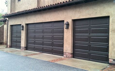 Brown Garage Door by Hildebrandt Panel Brown Garage Door All County