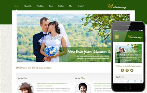 Matrimony A Wedding Planner Flat Bootstrap Responsive Web Template By W3layouts Marriage Website Templates Free