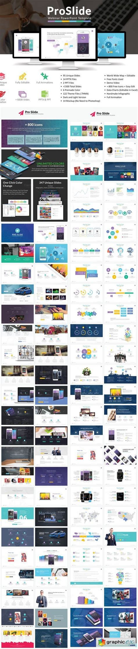 webinar powerpoint templates proslide webinar powerpoint template 187 free vector stock image photoshop icon