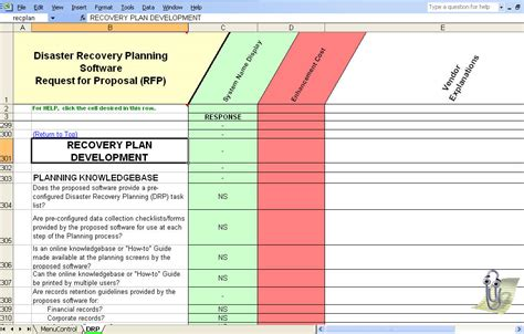 disaster recovery plan checklist template disaster recovery plan checklist