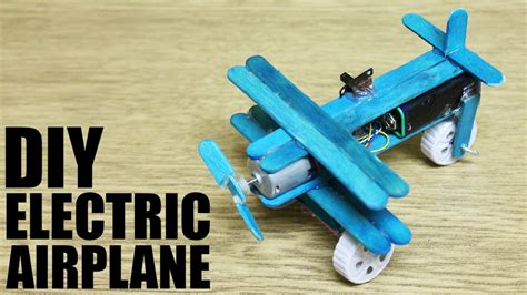 How Do You Make A Airplane Out Of Paper - how to make an electric airplane diy airplane