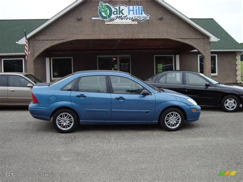 2000 ford focus zts 2000 light sapphire blue metallic ford focus zts sedan