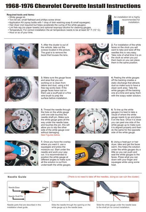 auto repair manual online 2010 chevrolet corvette instrument cluster service manual buy car manuals 1953 chevrolet corvette instrument cluster service manual how