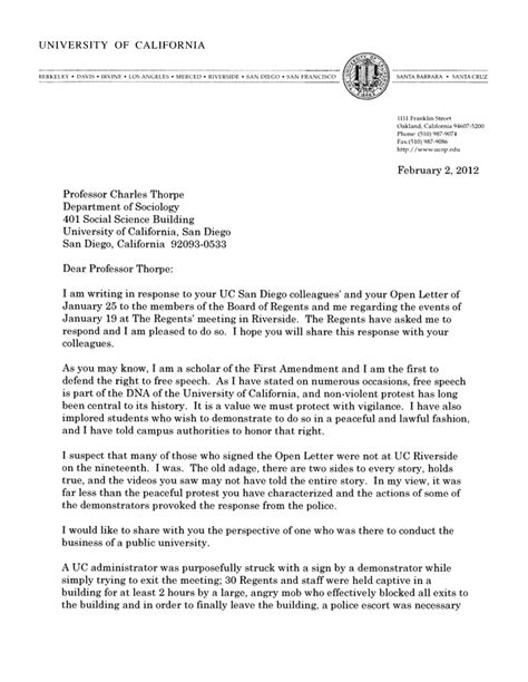 Recommendation Letter For Uc Application Reclaim Uc March 2012