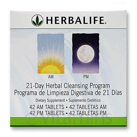 Herbalife Detox Kit by Herbalife 21 Day Am Pm Herbal Cleansing Program 42 Am