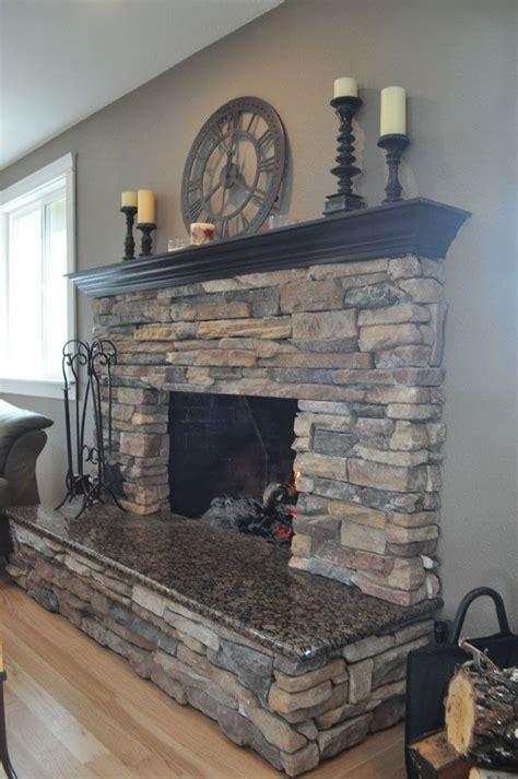 fireplace with stone best 25 stone fireplace mantel ideas on pinterest stone
