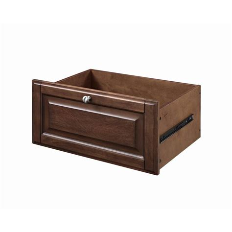 Drawer Glides Lowes by Shop Allen Roth Wood Drawer Unit At Lowes