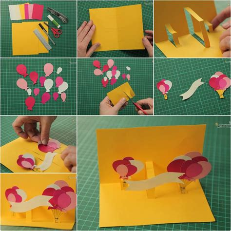 How To Make A Birthday Card With Photo How To Make Creative 3d Birthday Card Diy Tutorial