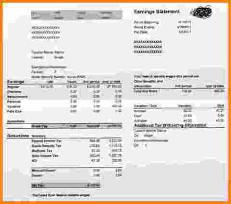 adp pay stub template free adp paystub related keywords adp paystub