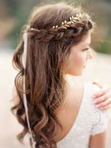 Best 25  Braided wedding hairstyles ideas on Pinterest