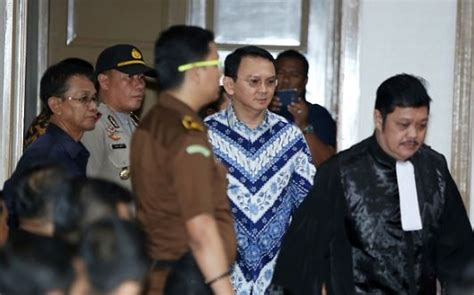 ahok sentence indonesia widespread condemnation for prison sentence of ahok