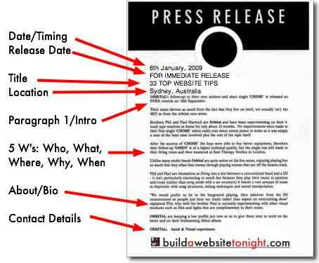 artist press release template 5 tips for writing a catchy press release and doing it