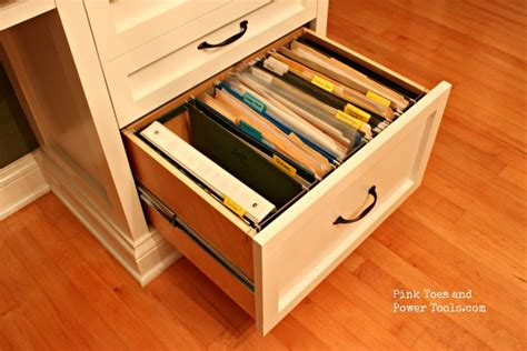 desk drawer hanging file hardware dining room home office how to a hanging file