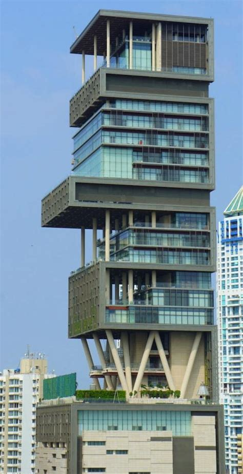 antilia incredible images    extravagant house