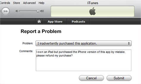 Report A Problem by Iphone Tutorial And More Great Article How To Get Refunds From The Itunes App Store