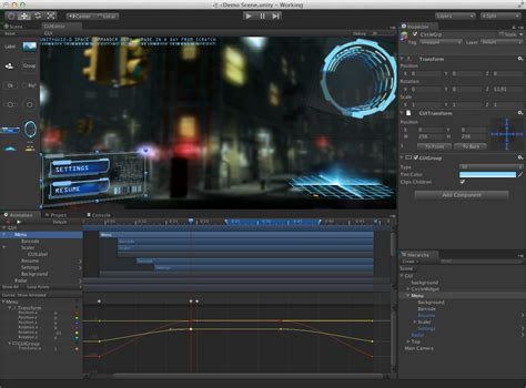 gui layout position unity editor timeline create his personnal gui timeline