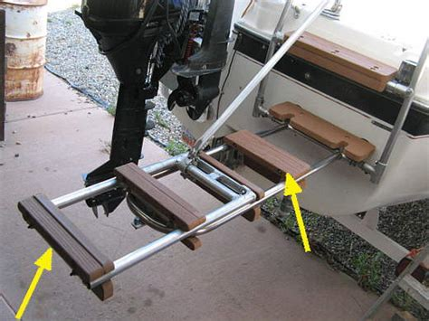 boat swim ladder strap towing an inflatable sailboatowners forums