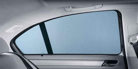 auto blinds and curtains bmw genuine rear side window sun screen shade blind set