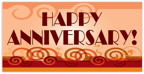 Anniversary Banners Happy 50th Banner Happy Anniversary Banner Template