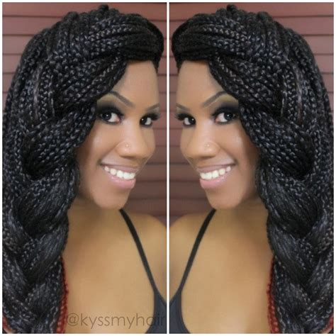 how to style my braided hair blocks 60 totally chic and colorful box braids hairstyles to wear