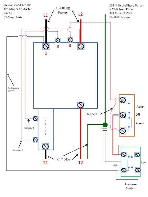 Electric Motor Wiring Diagram Forward