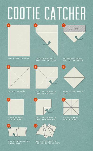 How To Make A Paper Question Thing - 20 best ideas about paper fortune teller on