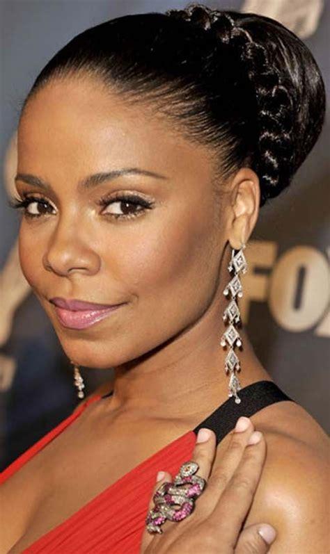 elegant hairstyles for african american women wedding hairstyle for african american women http